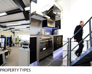 Commercial property types from industrial to retail to office