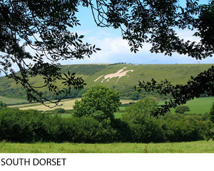Osmington White Horse, Dorset